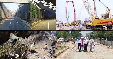construction on firdous market underpass