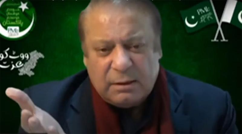 Nawaz Sharif's speech
