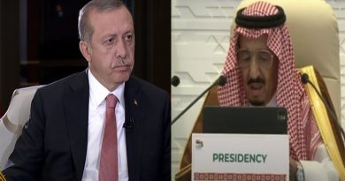 Salman and Tayyip Erdogan