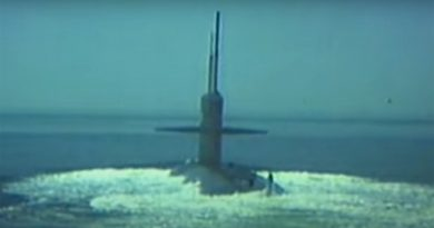 nuclear warheads were set-up in the world's seas
