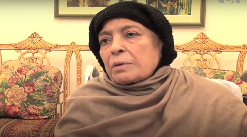 mother of Nawaz Sharif