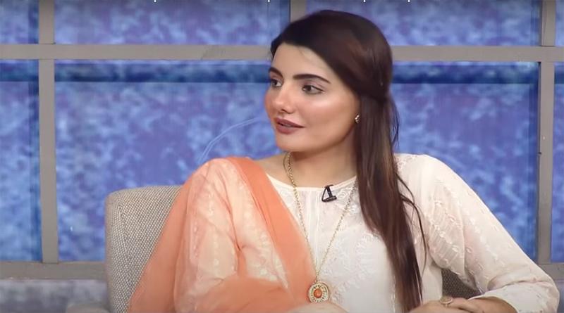 Actress Zainab Jameel