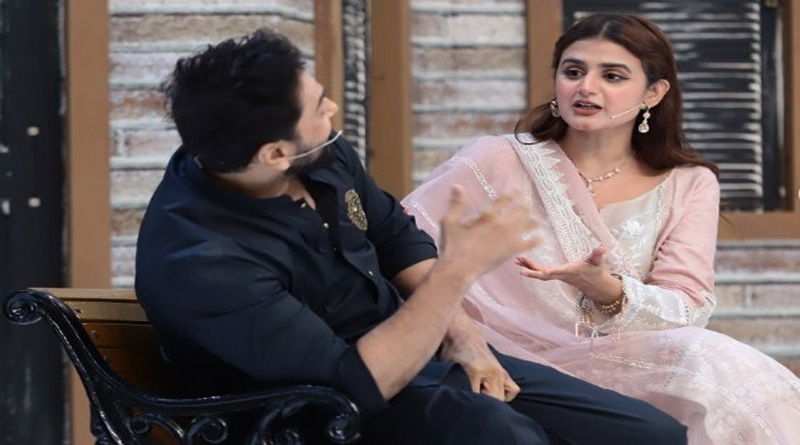 Hira and Mani in TV show