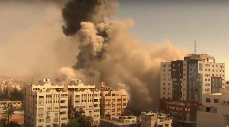 Attacks in Gaza on media