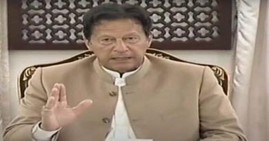 Pakistan nit talking with India.Imran Khan