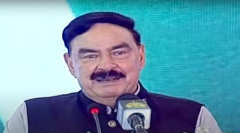 Sheikh Rasheed briefing on the case of daughter of Afghan ambassador