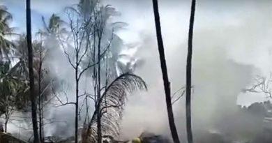 military plane crash in Philippines